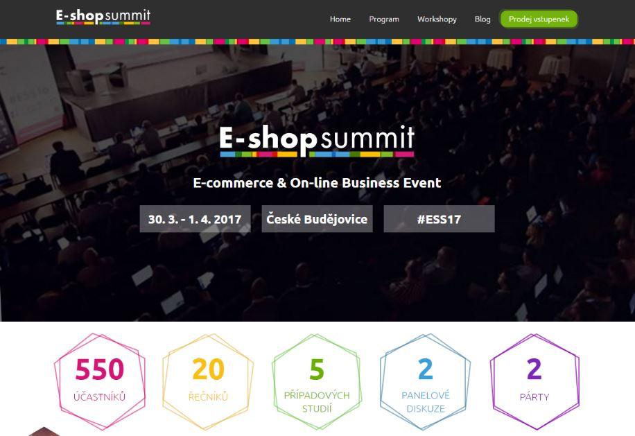 E-shop summit 2017 – přípravy v plném proudu